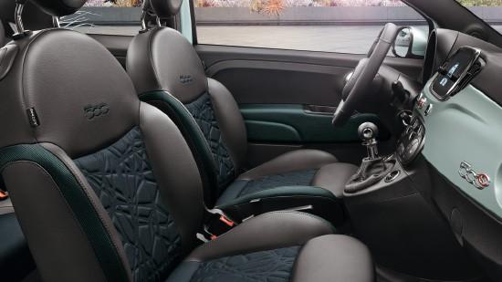 Fiat 500 interiør